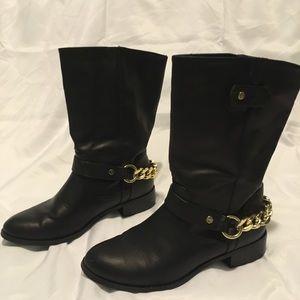 Express black boots